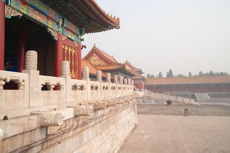 The forbidden city, Beijing Stock Photo