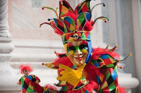 Karneval in Venedig Lizenzfreie Bilder