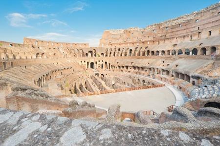 Ansicht von oben �ber Kolosseum