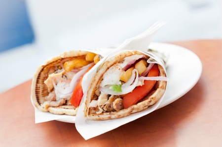 Greek street food - Gyros