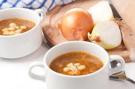 French onioun soup