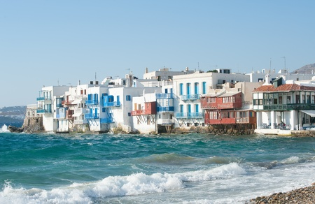 Mykonos town and Little Venice
