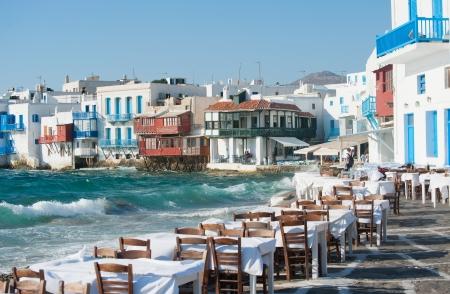 """Restaurant von """"Klein Venedig"""" Lizenzfreie Bilder"""