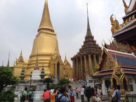 A famous tourist spot in Bangkok Thailand.