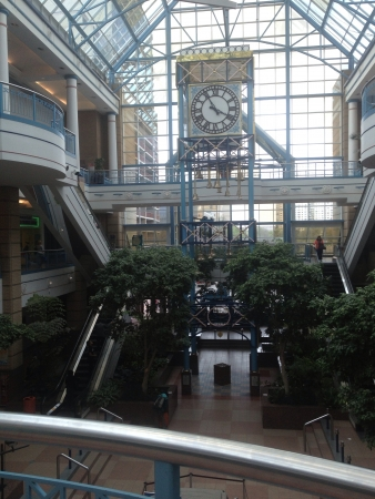 Fascinating view inside the Portage Place mall Banco de Imagens