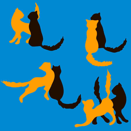 pairs: a set of vector pairs of cats