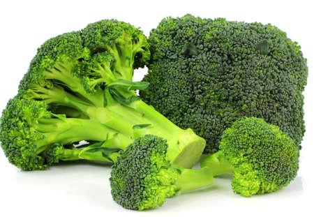 Broccoli plantaardige geïsoleerd op witte achtergrond