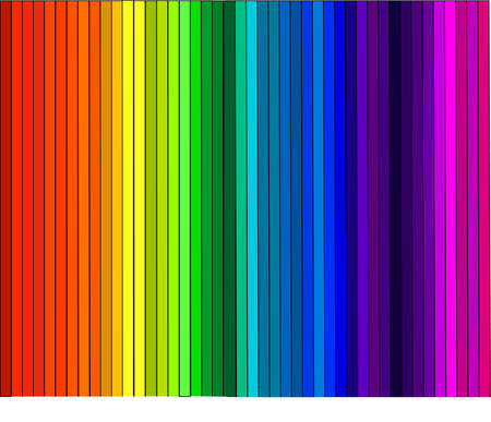 colors in a row Illustration