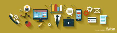 infographics background business. Business concept. Set icons