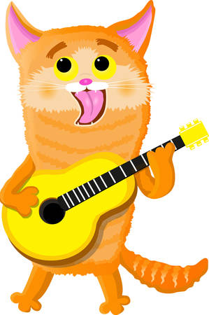 World cat day sings a song