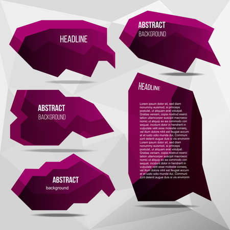Lilac abstract base for text vector illustration. Иллюстрация