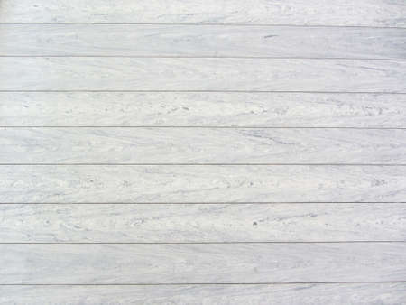 Top view of white wooden planks. Wooden background. Wood texture. Zdjęcie Seryjne