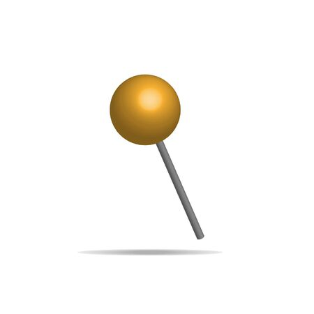Candy on a stick vector illustration