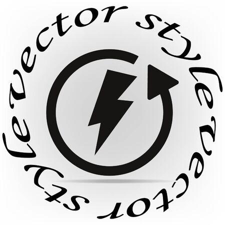 Energy Saver icon, vector illustration Illustration