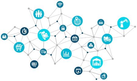 Aspects of modern company logistics processes Çizim