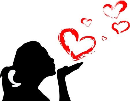 öpücük: sevgilime olmak Çizim