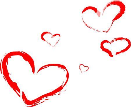 hearts Stock Vector - 17613445
