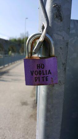 bridge padlock
