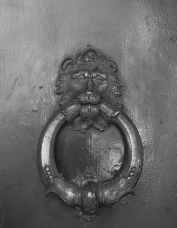 old lion knockers