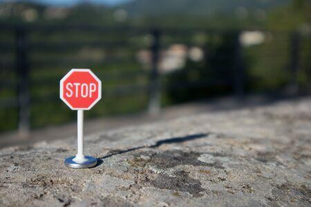 Stop signal Stock Photo