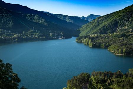 Lake near Tuscany