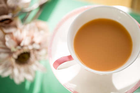english breakfast tea: Tea Stock Photo