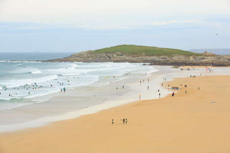 Surfing Beach, Fistral Beach, Newquay, England photo