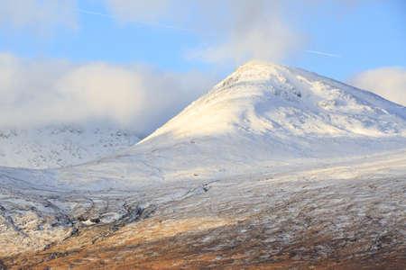 glencoe: Snow covered mountains, Glencoe Scotland