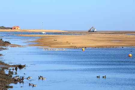 Wells Next the Sea in Norfolk, England