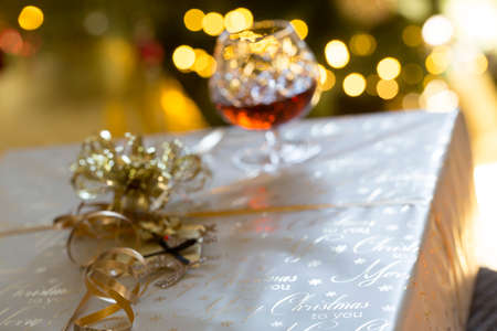 december 25th: Christmas Party Stock Photo