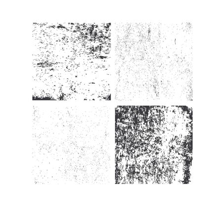 crack: Set of grunge textures. Abstract vector template. Overlay illustration over any image to create grungy effect. Stock Photo