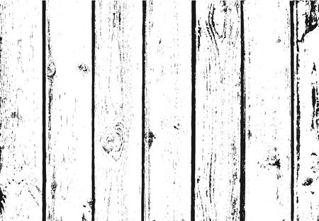 Fond en détresse de grain de bois de vecteur. Vecteurs