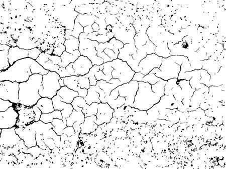 Texture de détresse de vecteur. Facile à créer un effet abstrait en détresse.