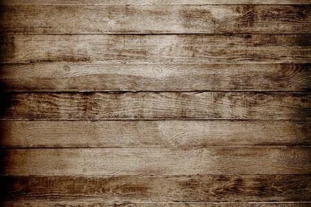 Fond de texture en bois naturel. Planches brunes