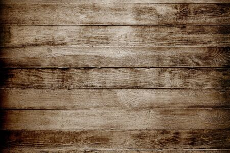 Natural wooden texture background. Brown planks