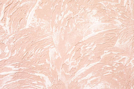 Pink stucco durface. Wall abstract background.