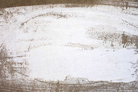 Weathered painted wall texture. Standard-Bild