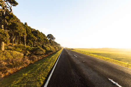 endless: The endless road Stock Photo