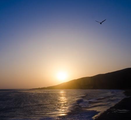 malibu: Nice sunset in Malibu, California