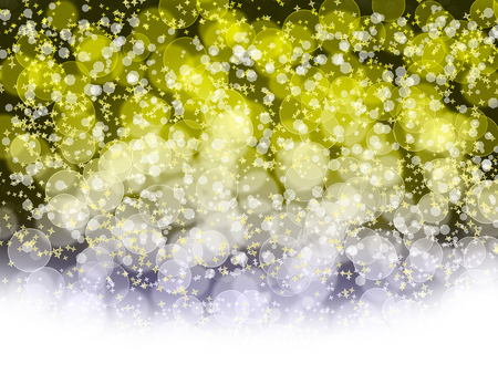 Abstract holiday's background with bokeh and stars