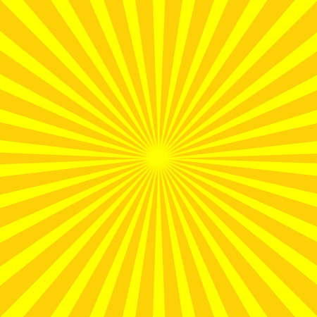 Abstract yellow rays bacground