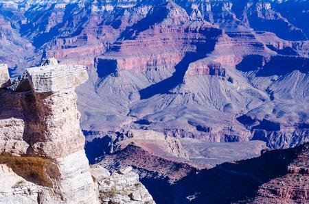 Beautiful Grand Canyon landscape at November, Arizona, USA photo