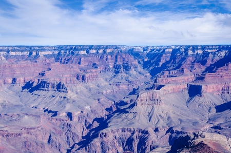 Beautiful Grand Canyon landscape at November, Arizona, USA photo