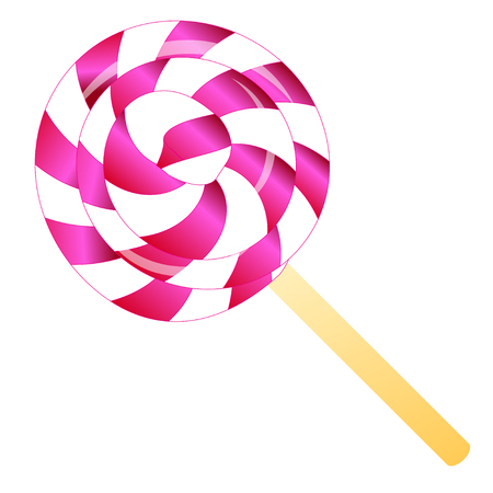 lollypop: color lollipop isolated on the white phone