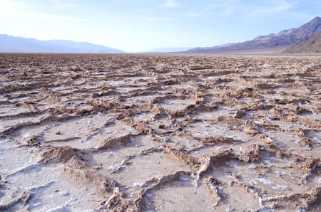 Bad water point in Death Valley national park, California, USA photo