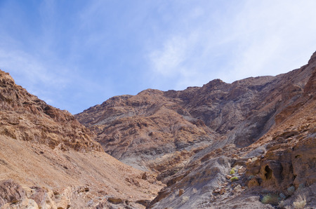 death valley: Mosaic Canyon in Death Valley National Park, California, USA Stock Photo