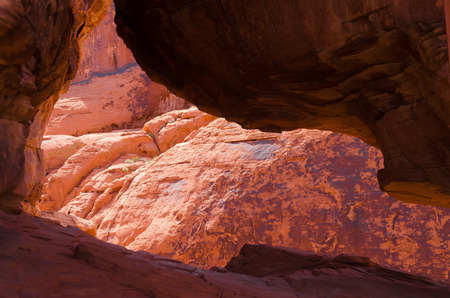 red rocks: Red rocks in Valley of fire State park in Nevada Stock Photo