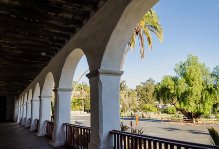 Santa Barbara Spanish Old Mission in California, USA