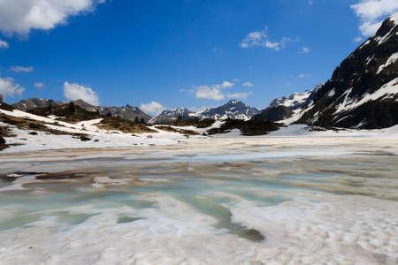 frozen lake: Frozen lake