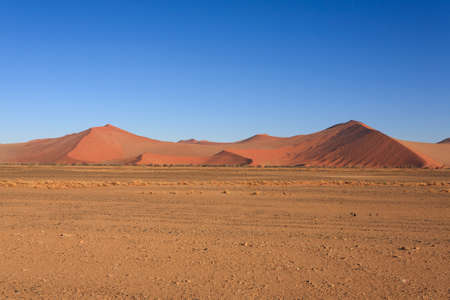 sossusvlei: Red dunes on the road to Sossusvlei, Namibia